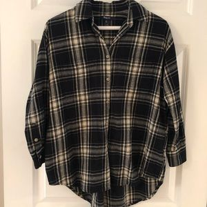Madewell button up flannel